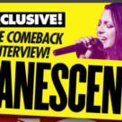 Amy Lee et Jen Majura se dévoilent dans le Kerrang! du 29 Août