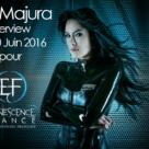 Jen Majura : son interview vidéo pour Evanescence-France