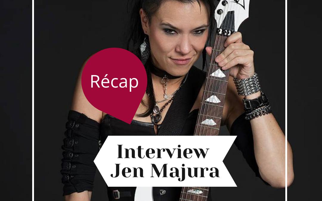 Ce que vous devez savoir sur notre interview de Jen Majura