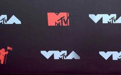 Evanescence photographié aux Video Music Awards 2021   Malheureusement le groupe…